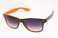 Очки wayfarer оранжевые, фото 1