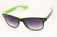 Очки Wayfarer зеленые , фото 1