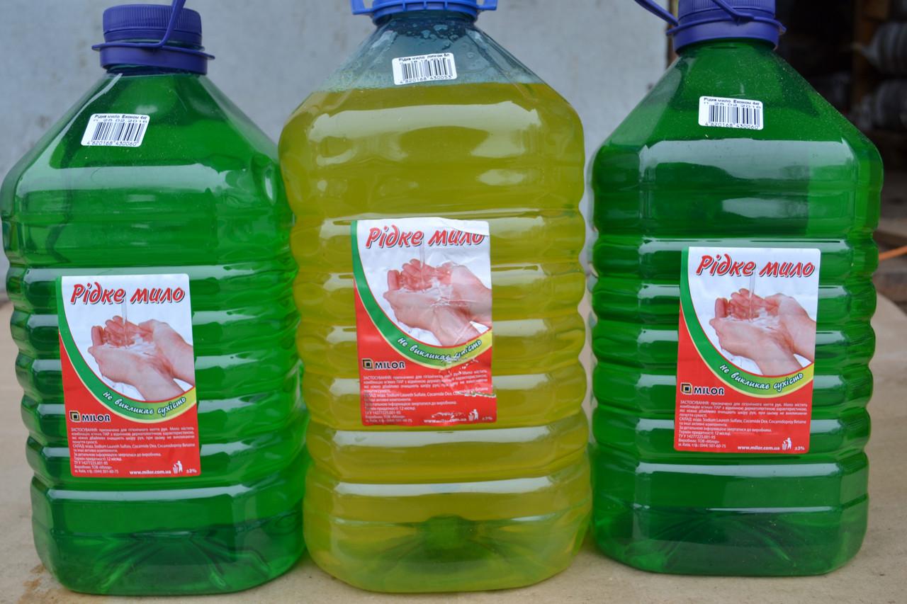 Мыло жидкое 4,5л Econom, фото 1