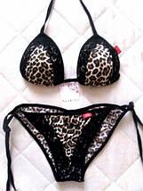 Леопардовый раздельный купальник (3011 sk), фото 3