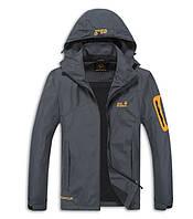 Мужская куртка Jack Wolfskin 2XL-4XL. Демисезонные куртки. Верхняя одежда. Мужские модные куртки. Код: КЕ559