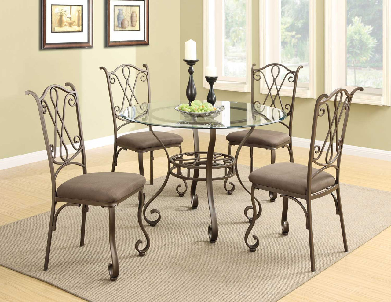 Кованые столы и стулья модель №23
