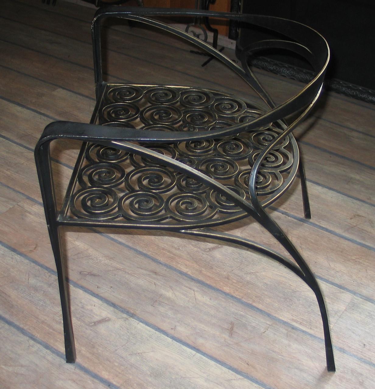 Кованые столы и стулья модель №95