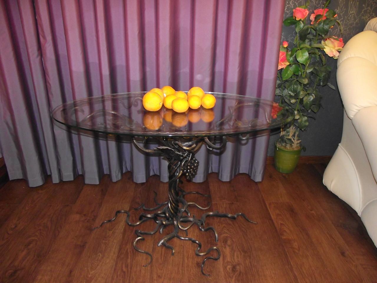 Кованые столы и стулья модель №133