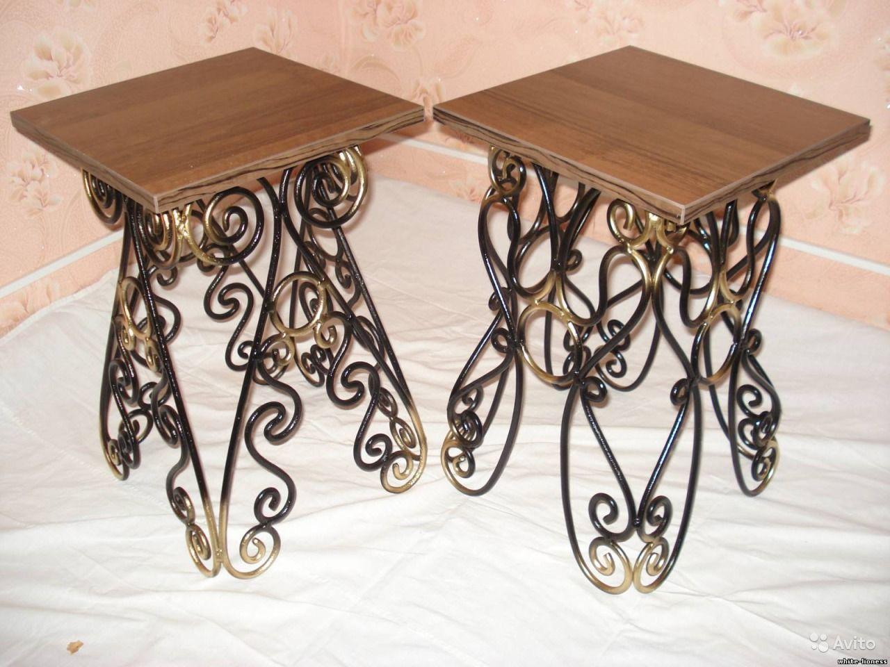 Кованые столы и стулья модель №135
