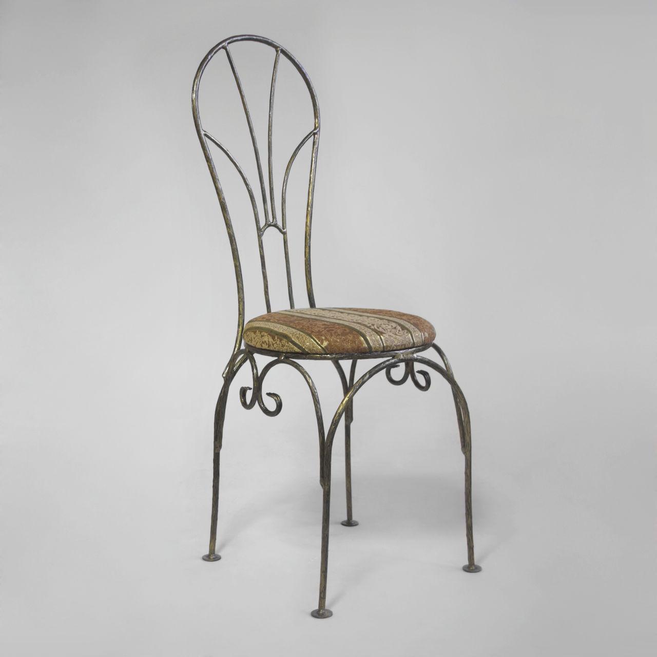 Кованые столы и стулья модель №142