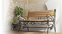 Кованые столы и стулья модель №145