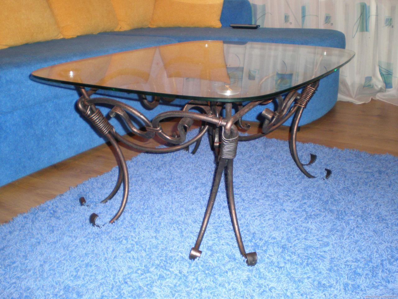 Кованые столы и стулья модель №117