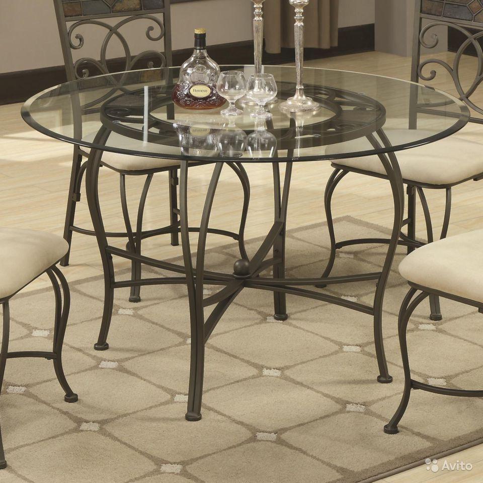 Кованые столы и стулья модель №122