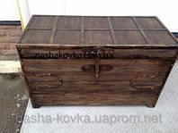 Комод - сундук деревянный