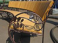 Кованые столы и стулья модель №155