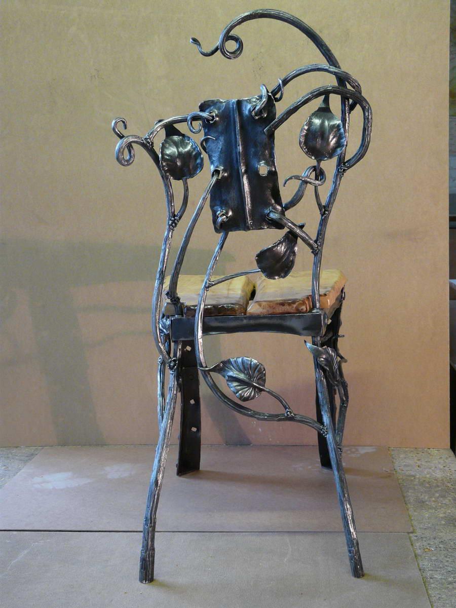 Кованые столы и стулья модель №157