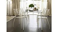 Кованые столы и стулья модель №166