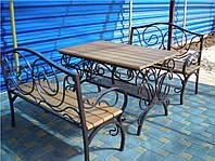 Кованые столы и стулья модель №168