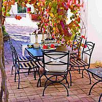 Кованые столы и стулья модель №172