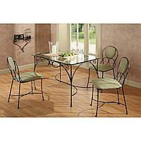 Кованые столы и стулья модель №176