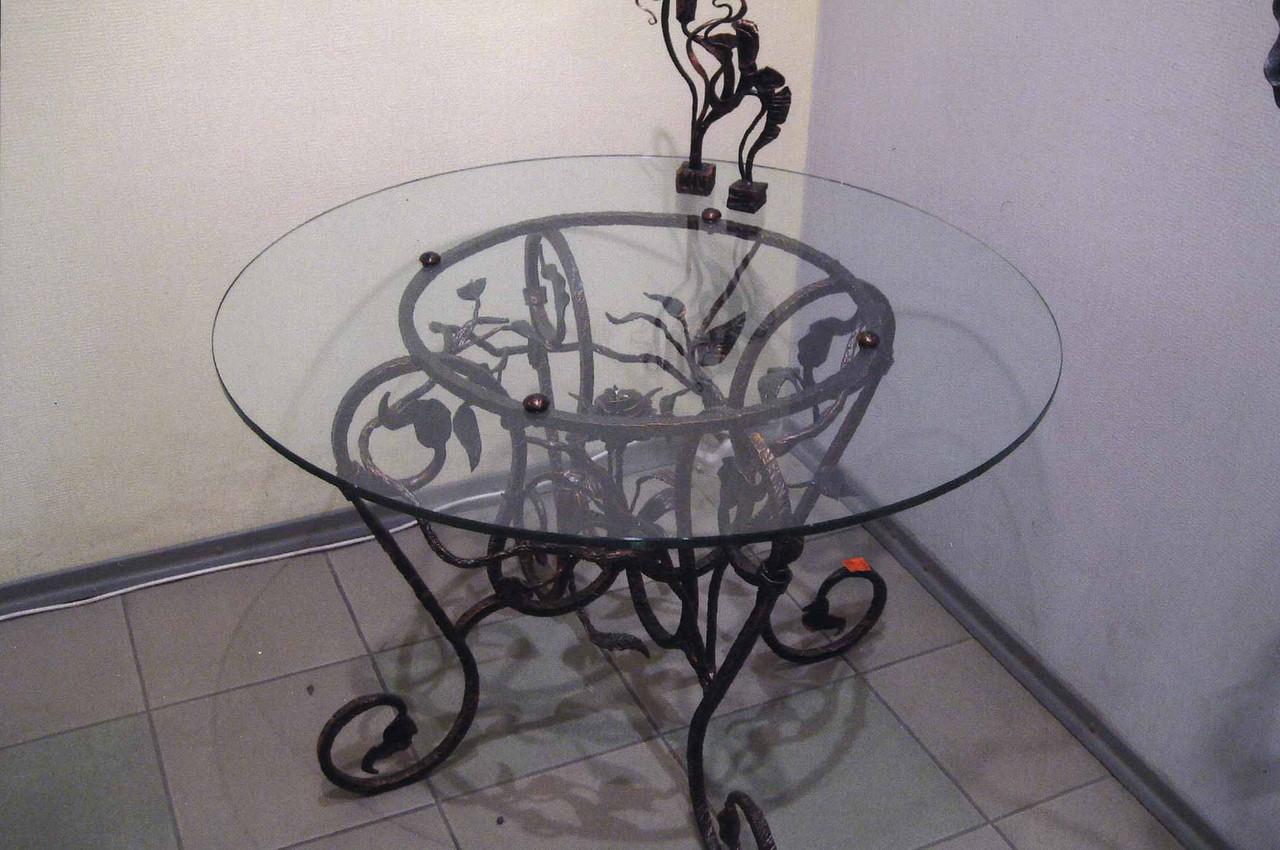 Кованые столы и стулья модель №181
