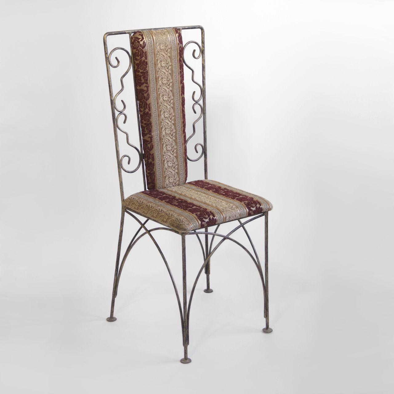 Кованые столы и стулья модель №185