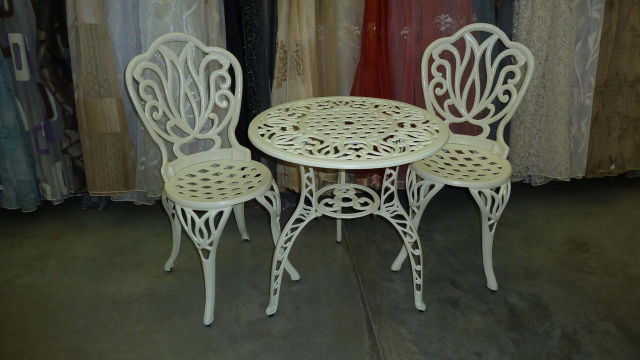 Кованые столы и стулья модель №186