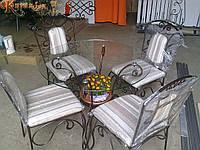 Кованые столы и стулья модель №188