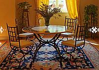 Кованые столы и стулья модель №196