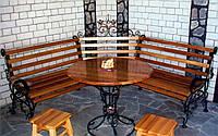Кованые столы и стулья модель №197