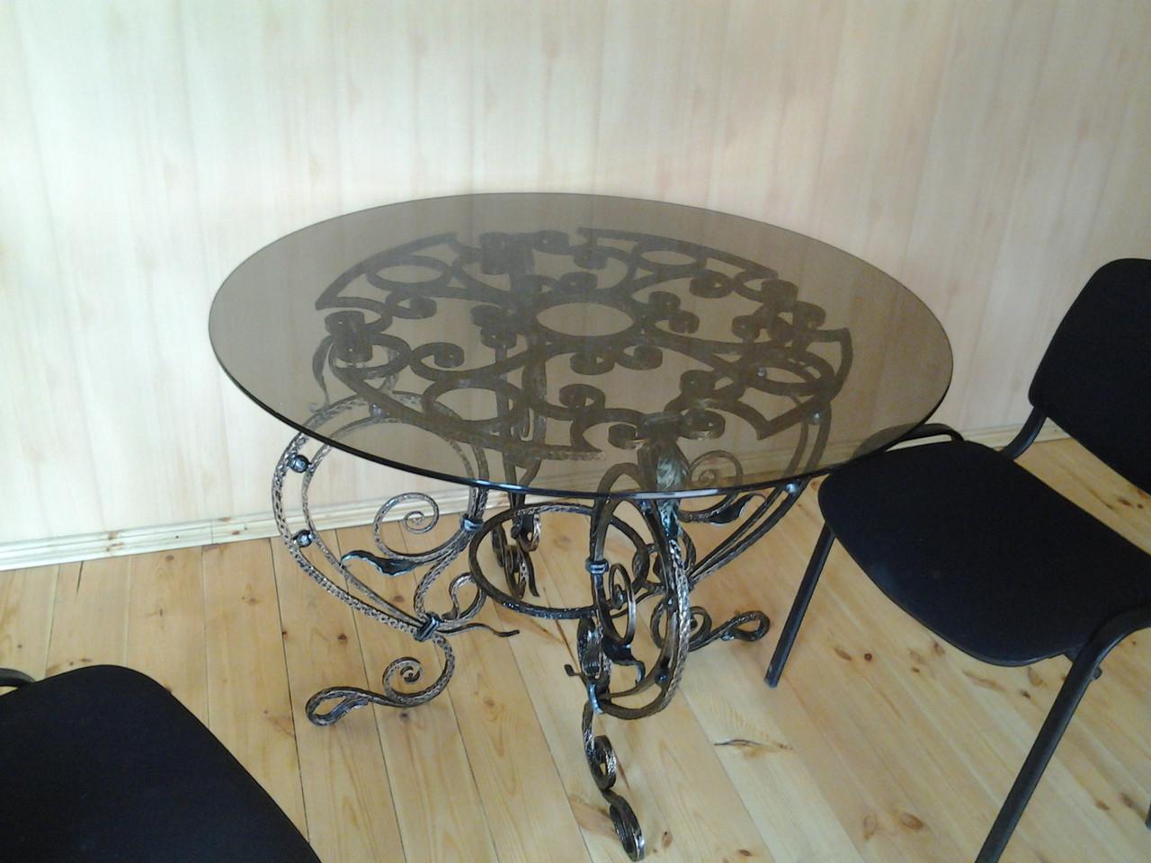 Кованые столы и стулья модель №201