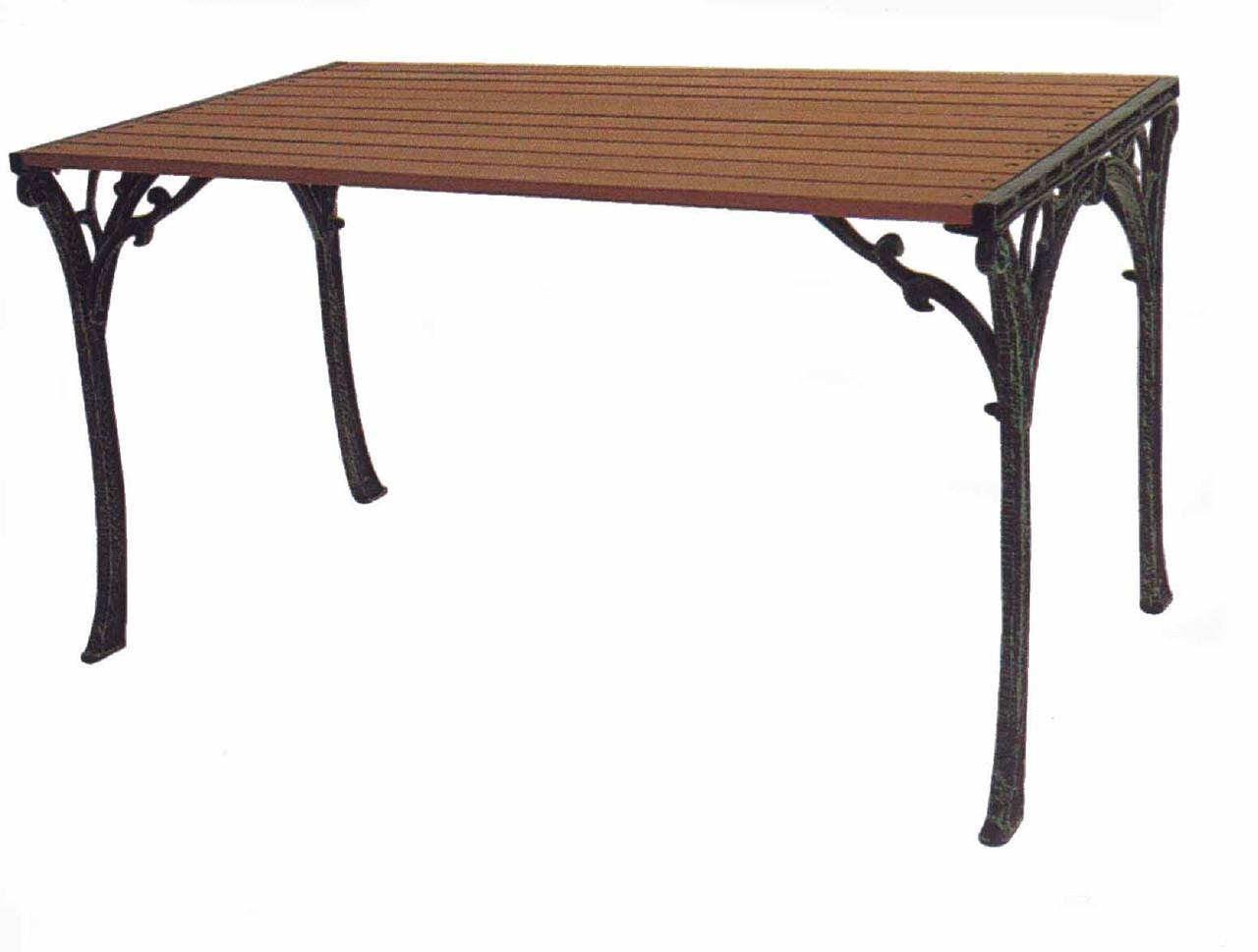 Кованые столы и стулья модель №208