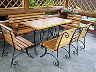 Кованые столы и стулья модель №213
