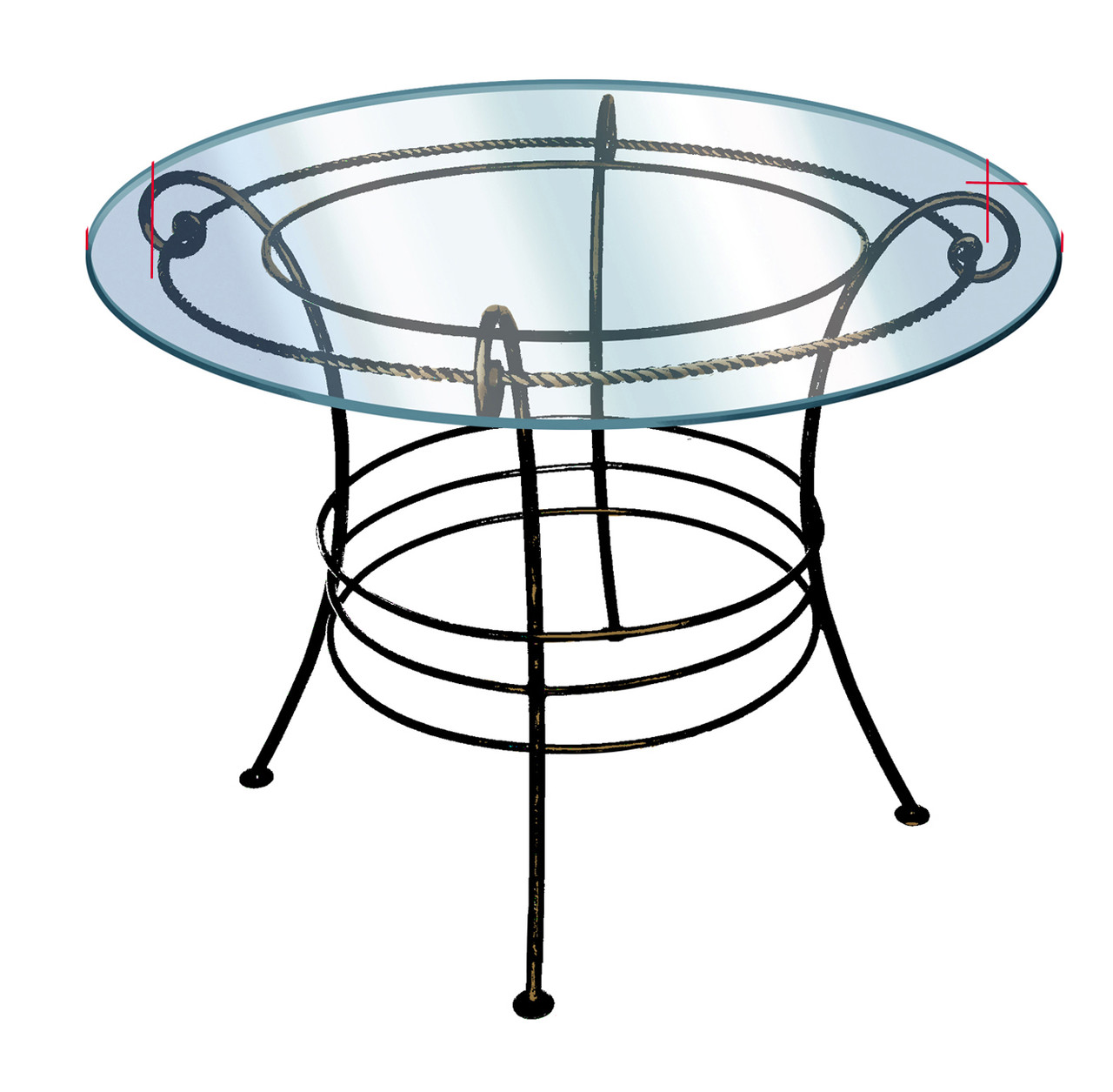 Кованые столы и стулья модель №215
