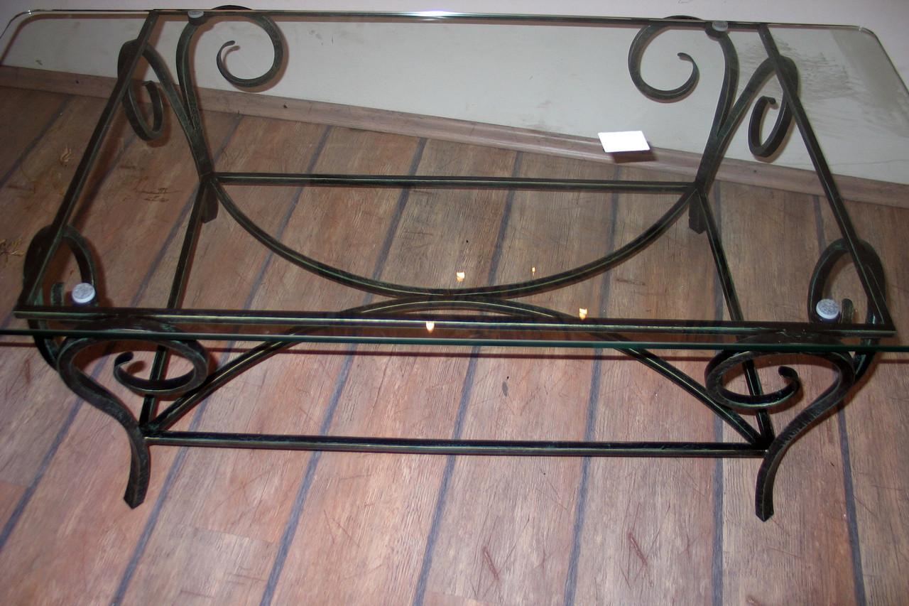 Кованые столы и стулья модель №216