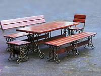 Кованые столы и стулья модель №219