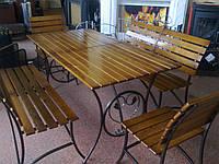 Кованые столы и стулья модель №222