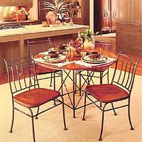 Кованые столы и стулья модель №292