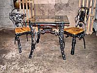 Кованые столы и стулья модель №298