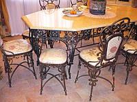 Кованые столы и стулья модель №302
