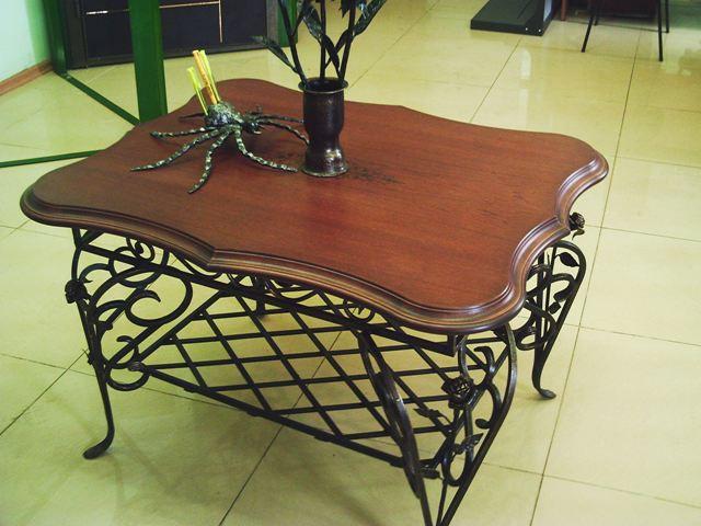 Кованые столы и стулья модель №303