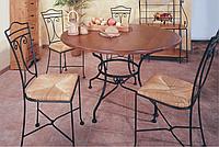 Кованые столы и стулья модель №307