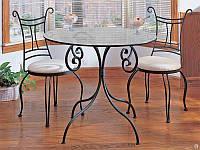 Кованые столы и стулья модель №308