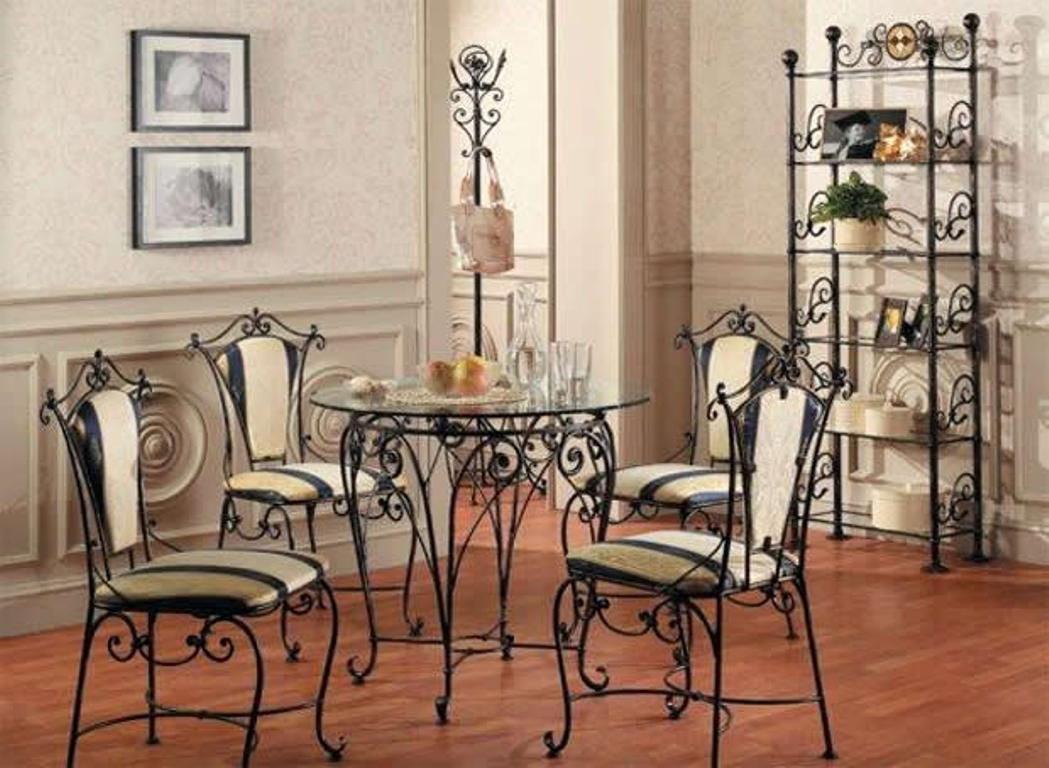 Кованые столы и стулья модель №312