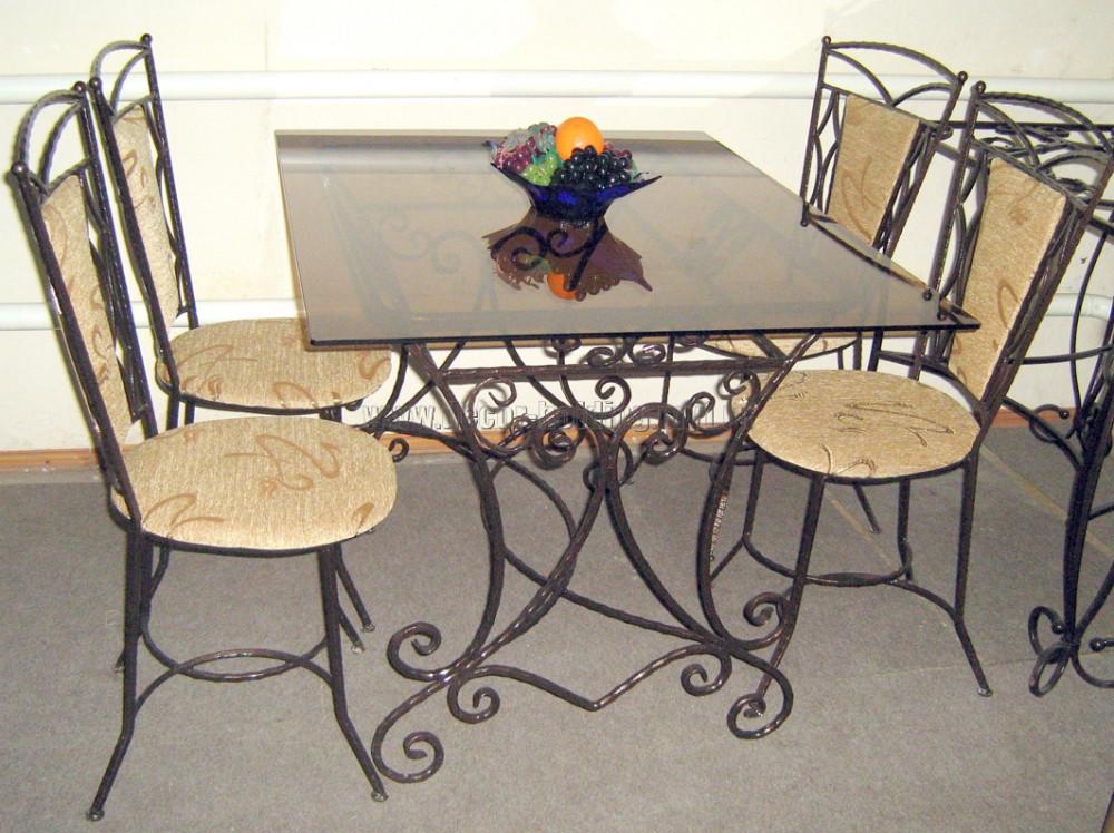 Кованые столы и стулья модель №315