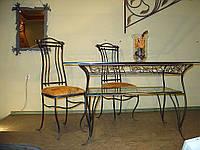 Кованые столы и стулья модель №316
