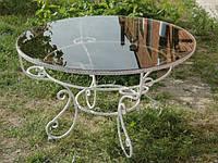 Кованые столы и стулья модель №317