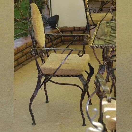 Кованые столы и стулья модель №318
