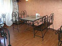 Кованые столы и стулья модель №320
