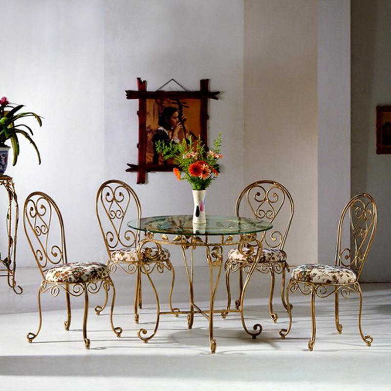 Кованые столы и стулья модель №321