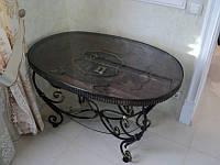 Кованые столы и стулья модель №361