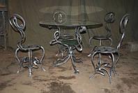 Кованые столы и стулья модель №362