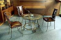 Кованые столы и стулья модель №368