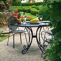 Кованые столы и стулья модель №401